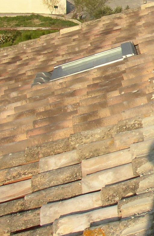Desportes rénovation, 30. Création d'une fenêtre de toit.
