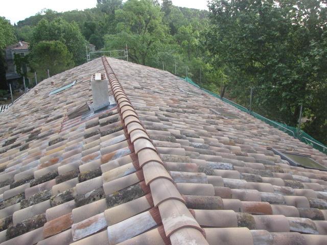 Desportes Rénovation novation 30 nouvelle couverture, cheminées et fenêtre de toit