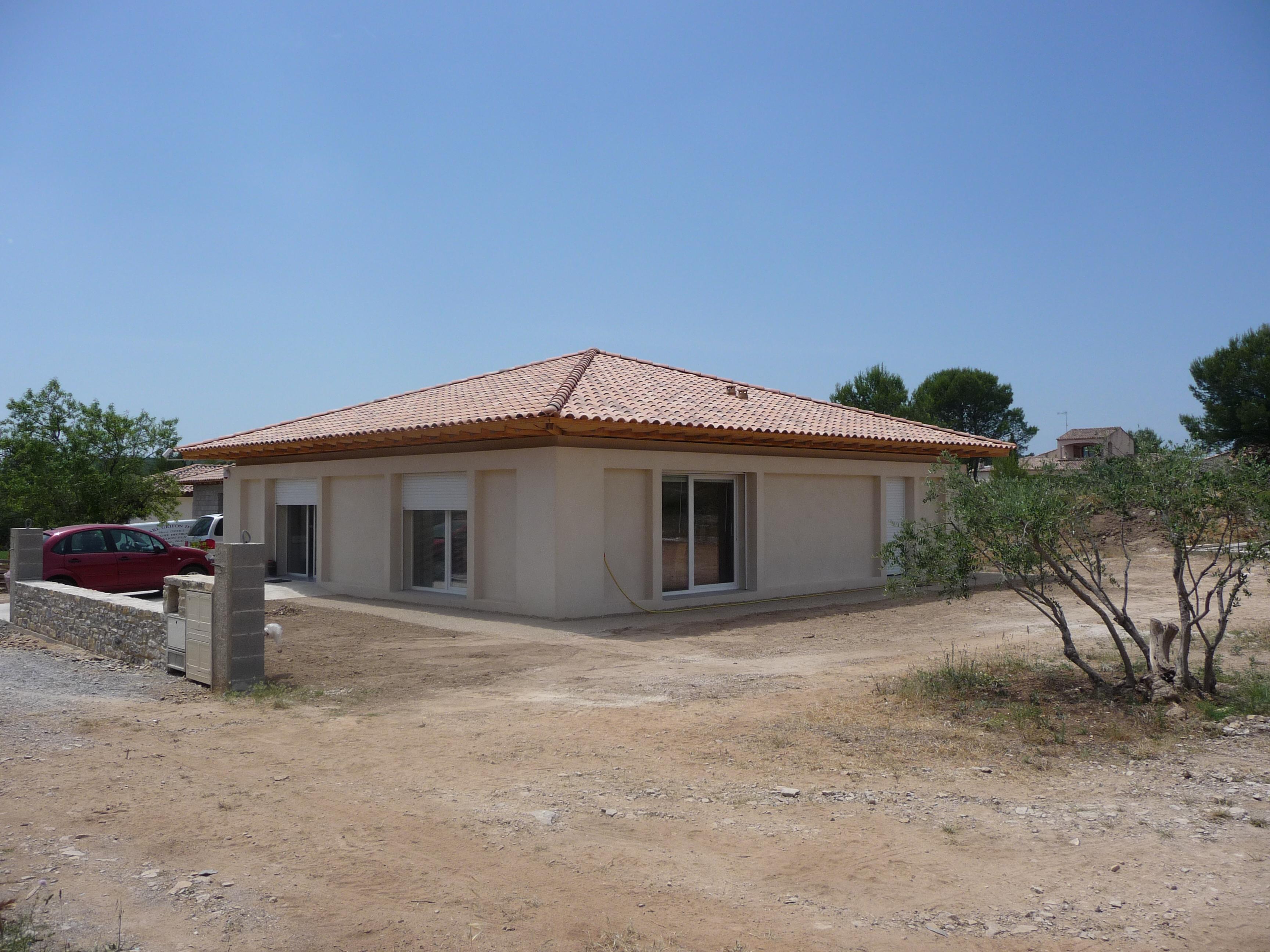 Desportes Rénovation Gard : maison en pierre de taille